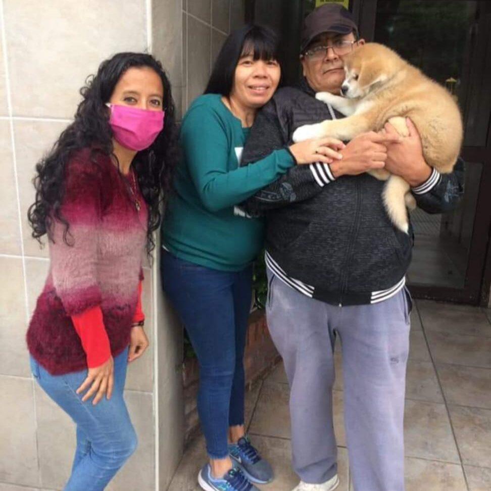Graciela y Juan de Argentina